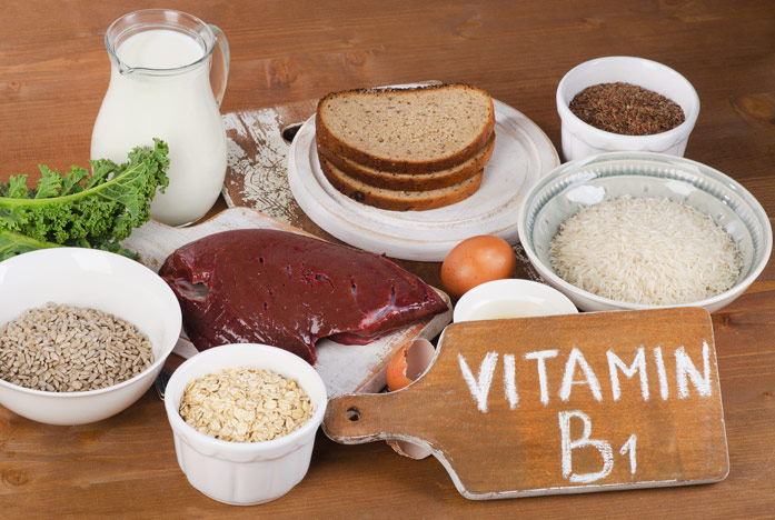 в каких продуктах витамин B1