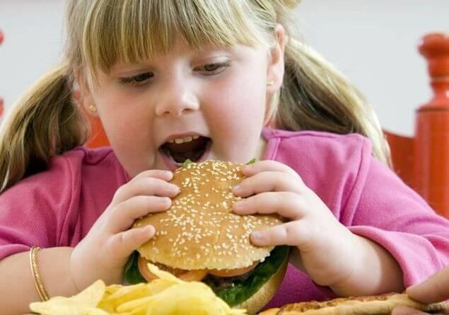 толстый ребенок