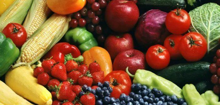 овощи фрукты ягоды