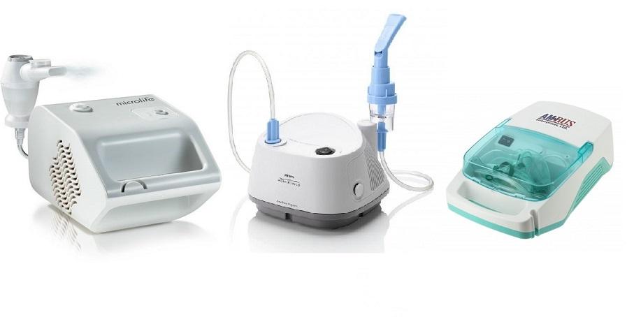 Компрессорный небулайзер: Microlife, Philips, Amrus