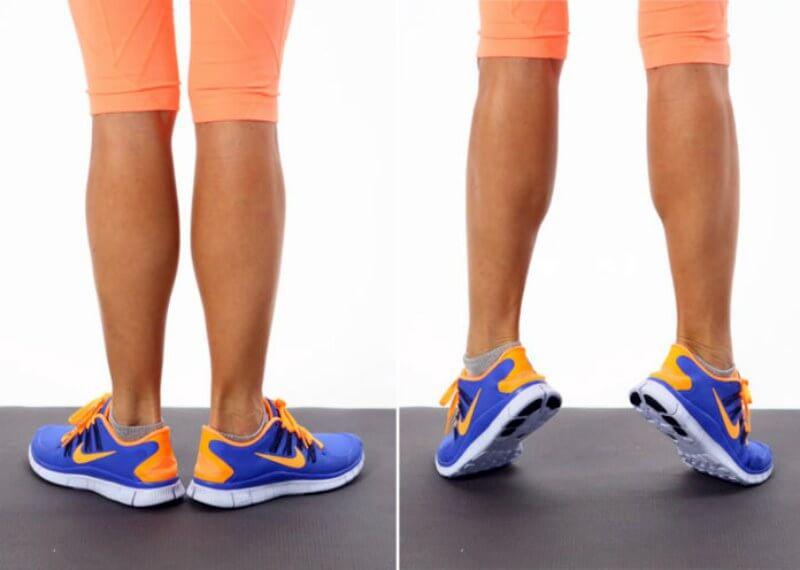 подъем на носки