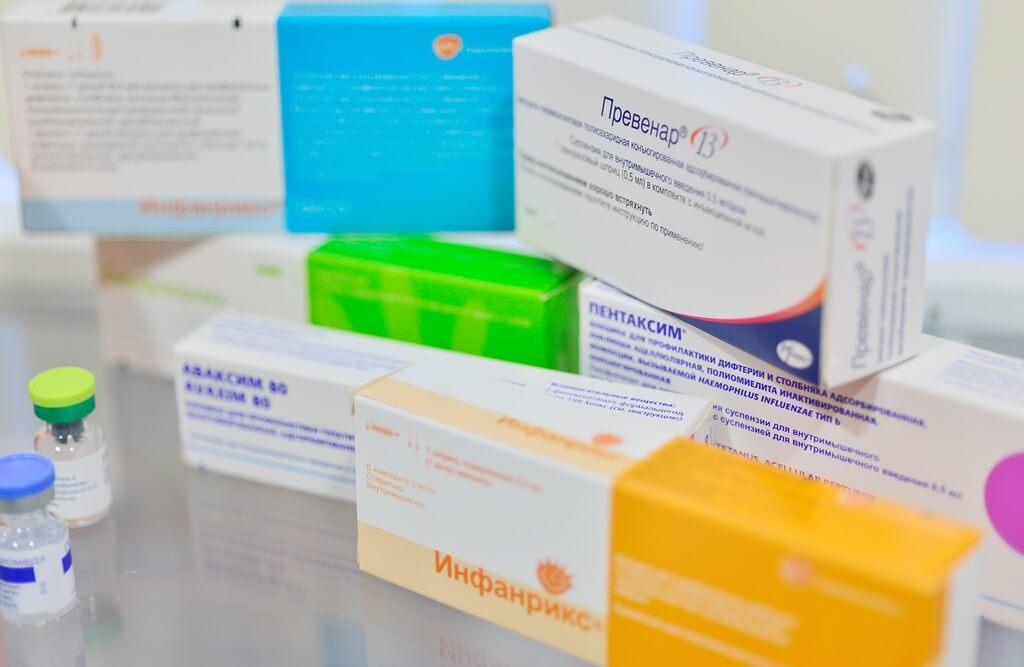 Вакцины для профилактических прививок